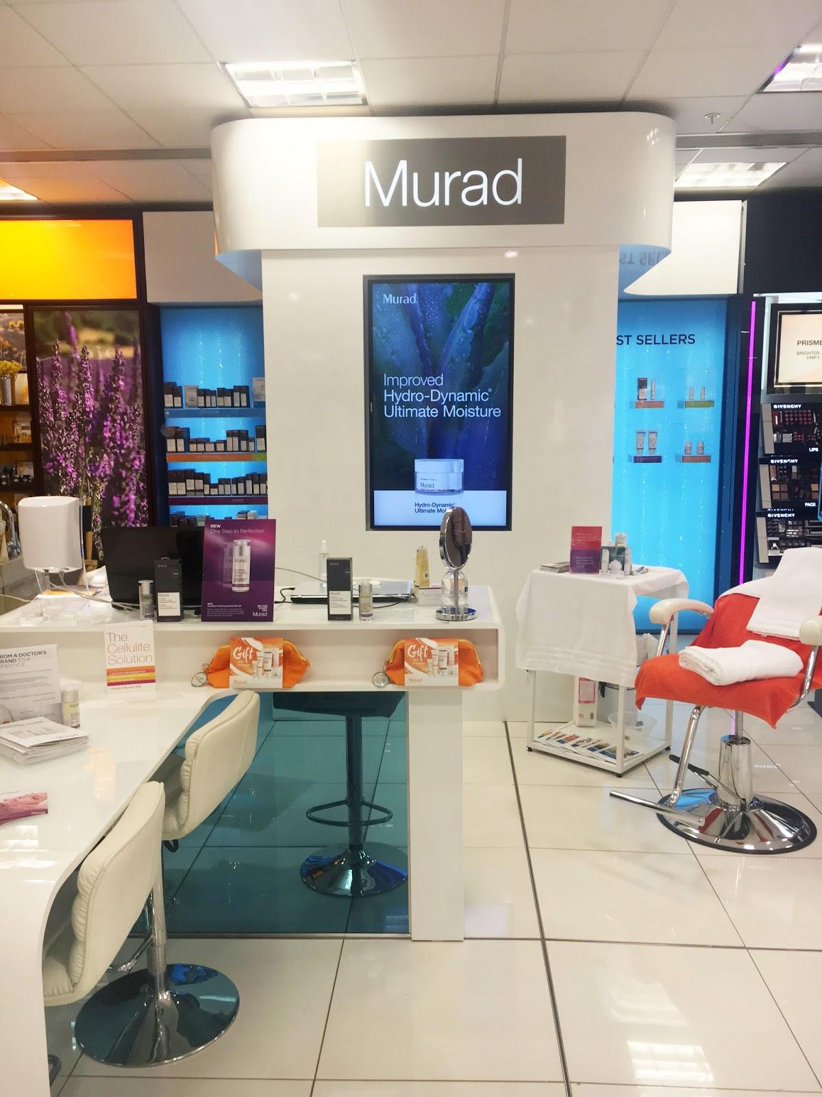 The Skincare Diaries Part One With Murad Debenhams Glasgow