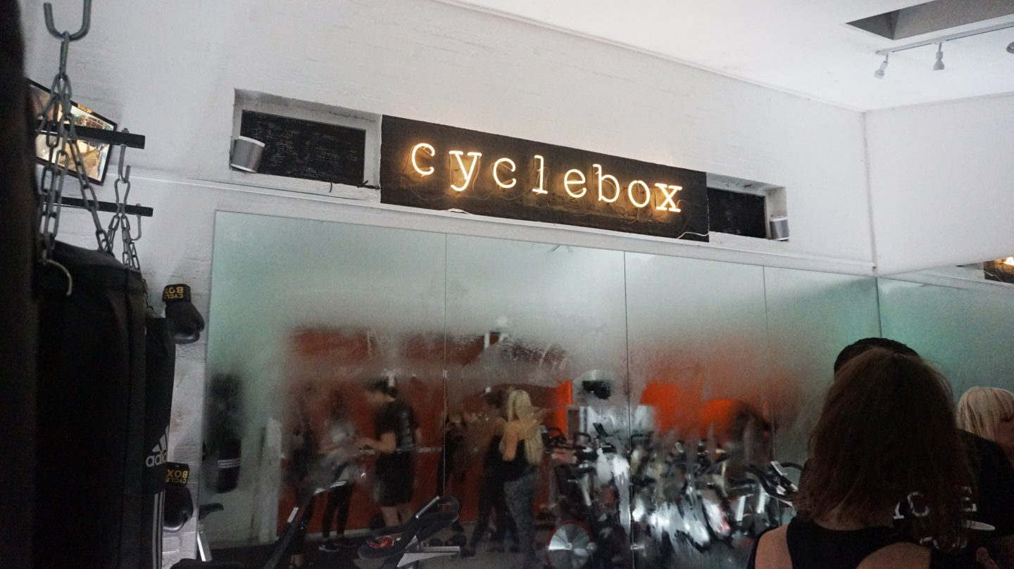 CYCLEBOX GLASGOW WORKOUT #GETYOURASSTOCLASS