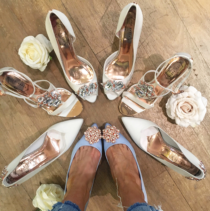 PERSONALISING MY HEELS WITH TED BAKER GLASGOW