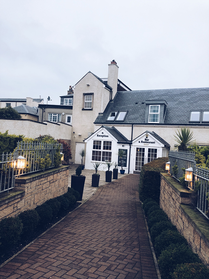 SCOTTISH STAYCATION AT OLD LOANS INN, TROON