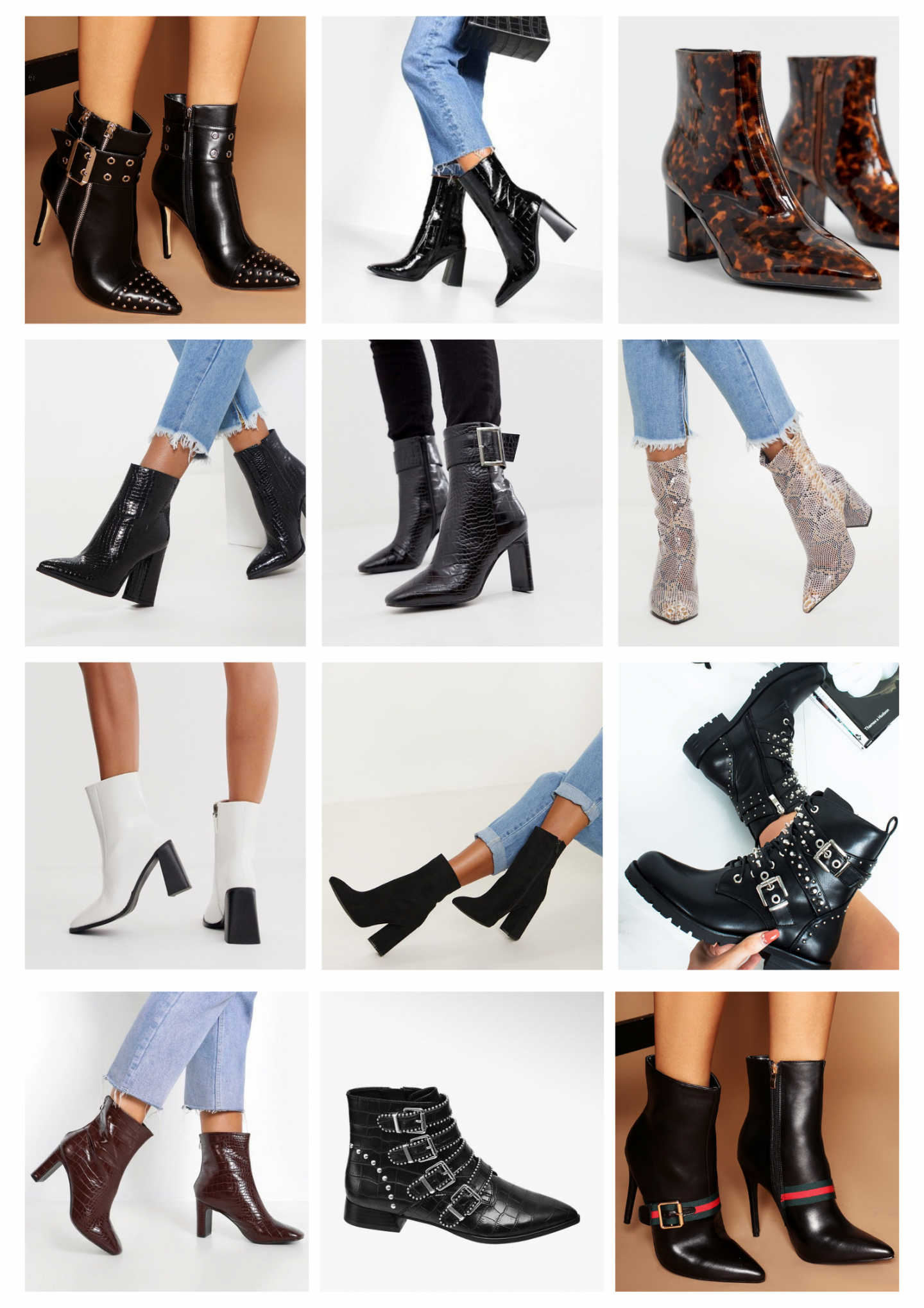 TOP 12 STYLISH ANKLE BOOTS UNDER £40 FOR AUTUMN 2019