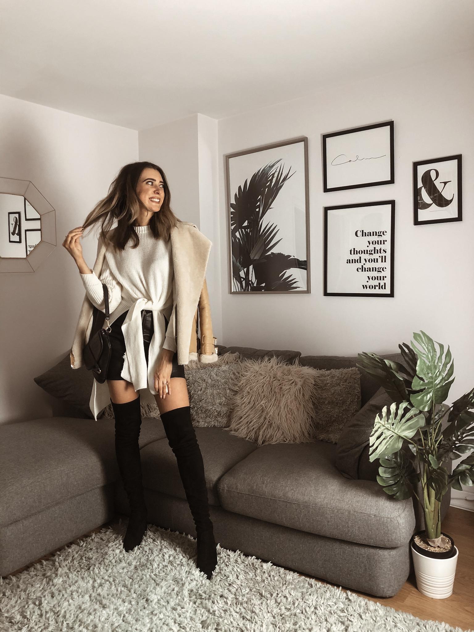 Femme Luxe jumper tie jumper knitwear Rachel Lawler Tender Loving Style (4)
