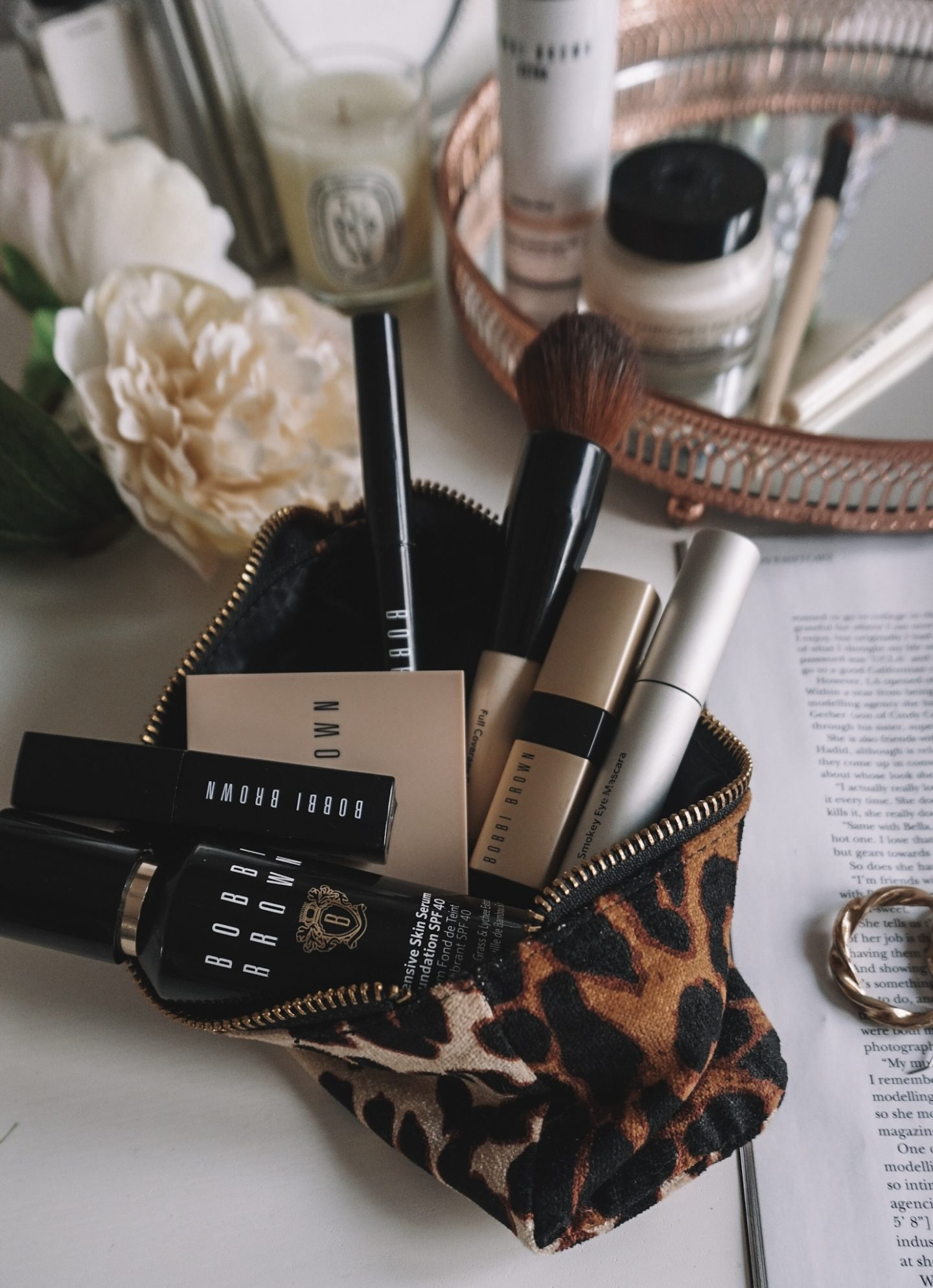TRYING BOBBI BROWN'S INTENSIVE SKIN SERUM FOUNDATION